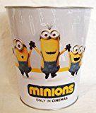 #6: Minions Movie Theater Exclusive 130oz Metal Embossed Popcorn Tub