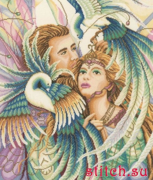 Birds of Paradise, by Lanarte