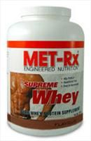 Met-Rx Supreme Whey - 2Lb - Chocolate MET-Rx Supreme Whey protein is a quality blend of Whey Protein Isolate and Whey Protein Concentrate. Whey protein has one of highest biological values of any protein supplement on the market due to it http://www.comparestoreprices.co.uk/vitamins-and-supplements/met-rx-supreme-whey--2lb--chocolate.asp