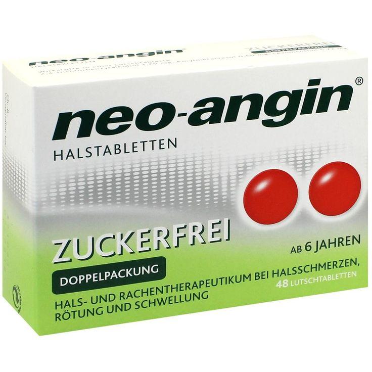 NEO ANGIN Halstabletten zuckerfrei: neo-angin® mit seiner speziellen Rezeptur bekämpft den Halsschmerz von zwei Seiten: es ist aktiv gegen…