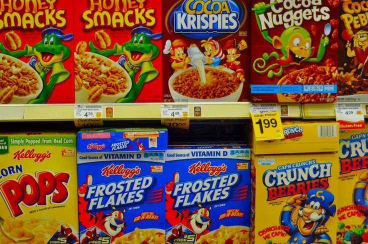 The cereal isle.