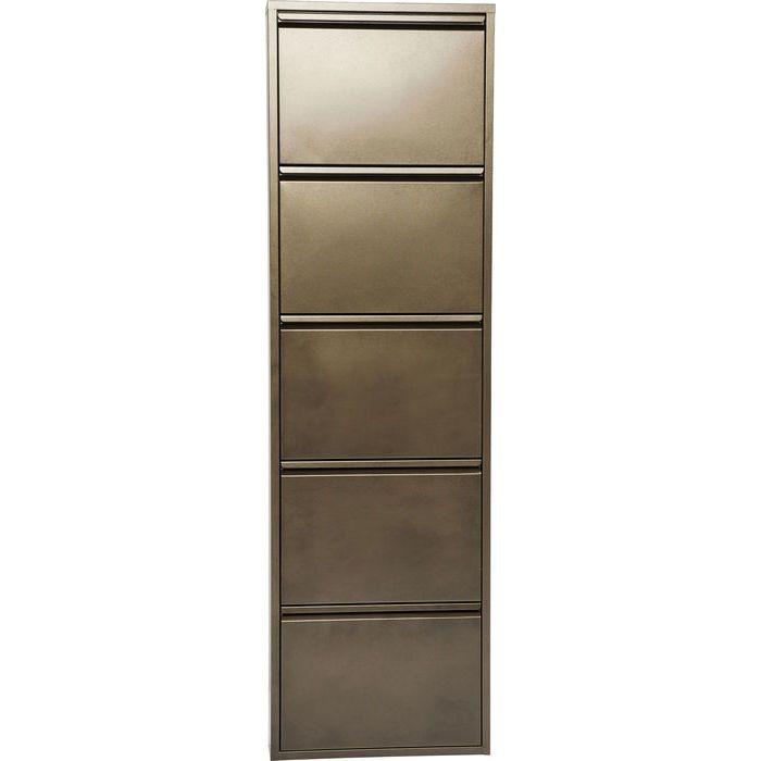 Shoe Container Caruso 5 Bronze - KARE Design
