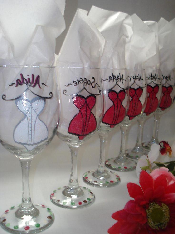 Painted Wine Glasses Uk