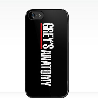 Grey's Anatomy Logo Cover case for iphone 4 4s 5 5s 5c 6 6s plus samsung galaxy S3 S4 mini S5 S6 Note 2 3 4   z2970