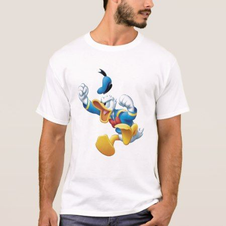 Angry Donald Duck T-Shirt - click/tap to personalize and buy