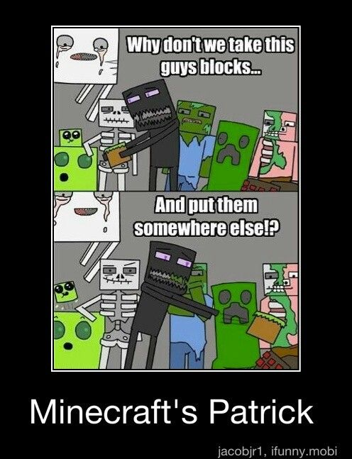 Funny Memes Minecraft : Best images about minecraft stuff on pinterest funny