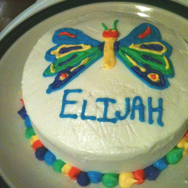 Very Hungry Caterpillar Butterfly Cake 48 best images about v...
