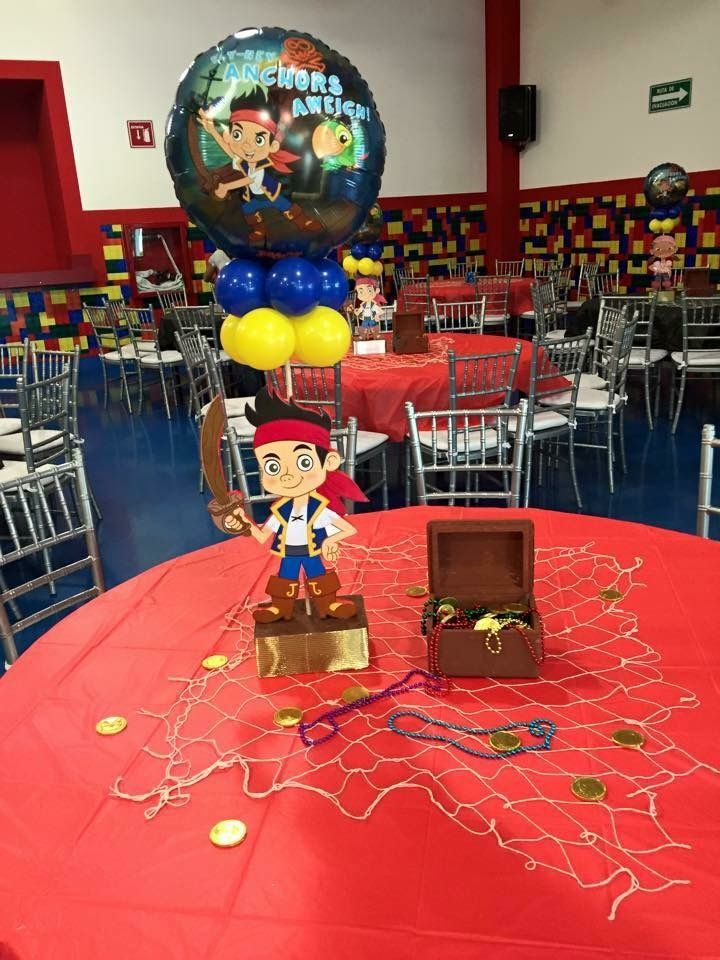 Jake and the Neverland Pirates centerpiece