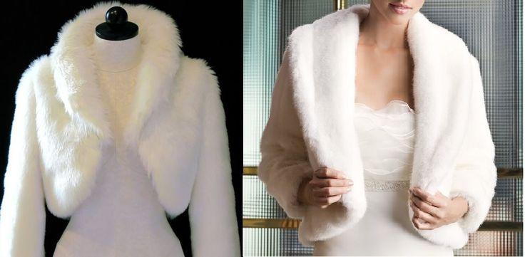 Patrón de este bonito bolero de pelo ecológico para el invierno, especial novias. Tallas desde la XS hasta la XXXL.