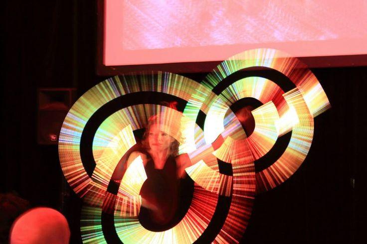 #VividSydney 2015 lightstick performer #VividCanon