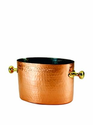 56% OFF Old Dutch International Decorative Copper 7-Qt. Double Champagne/Wine Chiller with Aluminum Insert