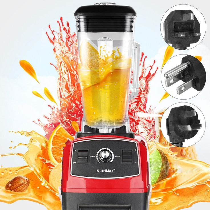 110-240V 2200W Mixer Blender Fruit Mix Juicer Smoothie Home Multifunctional Food Processor 2L at Banggood  #home #kitchen #tech #electronics