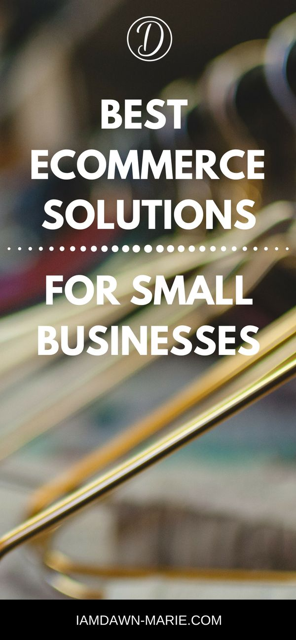 The ecommerce solutions for small businesses #ecommercestartup #ecommerce