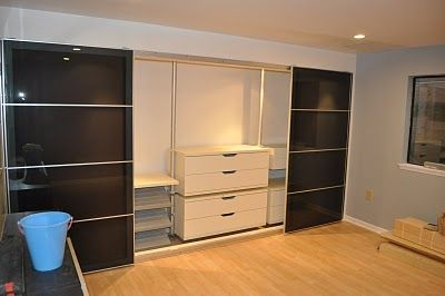 Expand storage space without using the more expensive PAX wardrobes - IKEA Hackers: Make every dollar count!