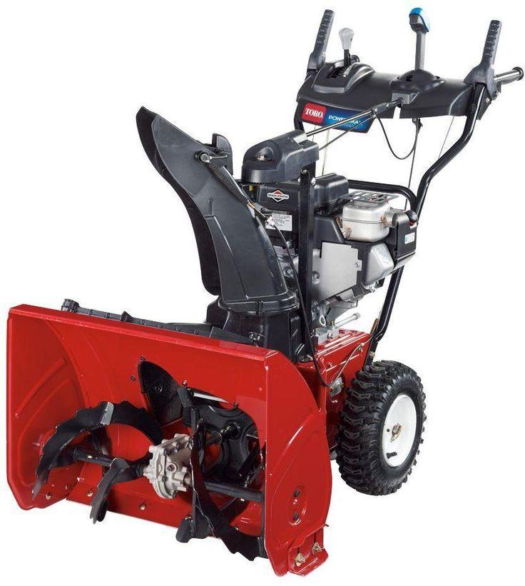 Freza zapada Toro Model: PowerMax 726OE (38816) Sistem lucru : 2 trepte Utilizare: zapada cu adancime 15-30 cm Cantitatea de zapada/minut: pana la 864 Kg Distanta aruncare zapada: pana la 12 metri Latimea de curatire: 66 cm Numar viteze: 6 inainte/2 inapoi Sistem frezare: Anti-Clogging System (ACS) Adancime zapada: 51 cm Diametru freza: 28 cm Motor: Briggs & Straton 205 cc OHV, 4 timpi Pornire: Manuala/Electrica Comanda tub evacuare zapada: Quick Stick Razuitor gheata: Reglabil Greutate: 88…
