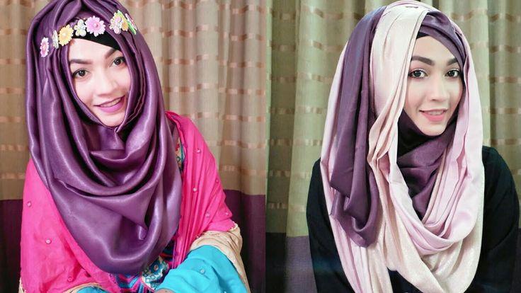 Eid Special Summer Hijab Style   Pari ZaaD ❤ - YouTube