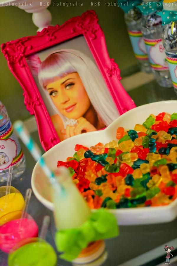 Kara's Party Ideas Katy Perry Music Girl Themed Party Planning Ideas Cake Decorations