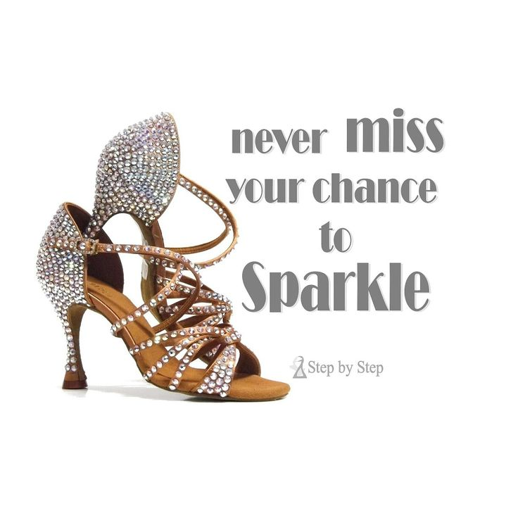 Never miss tour chance to sparkle #stepbystep #ballo #tango #salsaon2  #scarpedaballo #danceshoes #salsa #tango #kizomba #bachata #design #fashion  #shopping ...