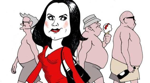 Leonora Skov: Det er mandens privilegium at vise bar overkrop, når han sveder, og pik, når han pisser