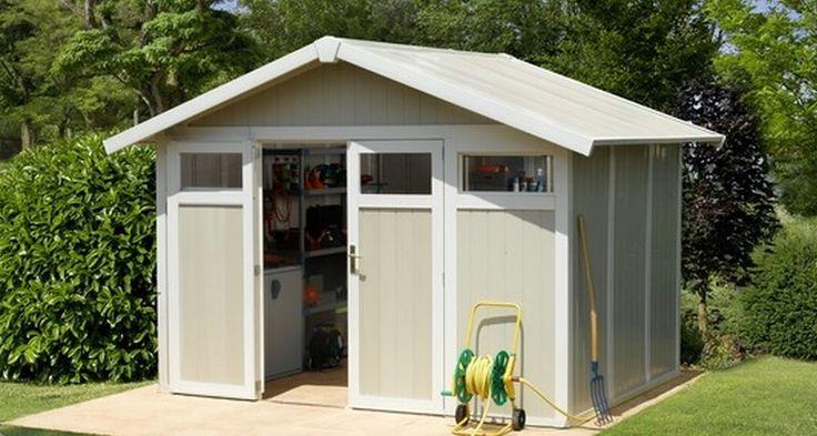 Oltre 25 fantastiche idee su casette da giardino su pinterest capanni per giardinaggio - Casette da giardino in resina ...