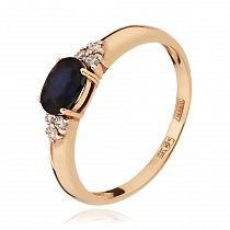 Золотые кольца с сапфиром в ювелирном интернет магазине ЗОЛОТОЙ. Купить кольцо с сапфиром – лучшие цены, фото, описание.