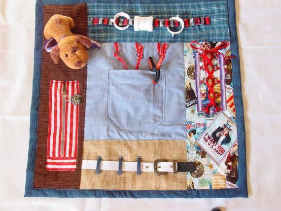 176 Best Sensory Fidget Fiddle Blanket Cushion Apron