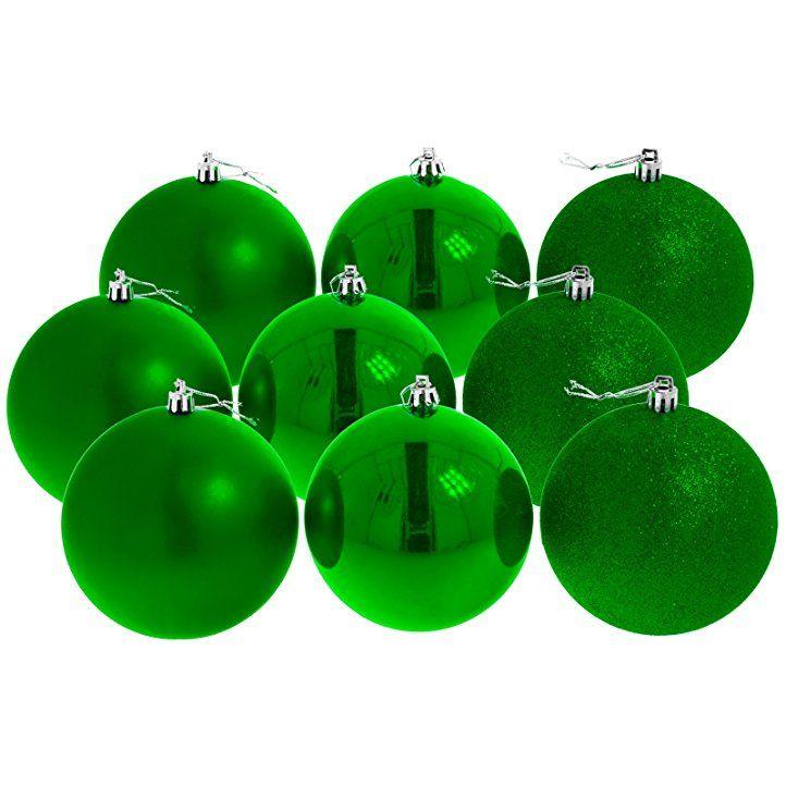 Christbaumkugeln Weihnachtskugeln 10 cm, 9er Pack, rot glänzend/matt/glitzernd: - weihnachtsdeko weihnachtsdeko basteln weihnachten weihnachten dekoration weihnachtsbaum weihnachtsbaumschmuck ideen weihnachtskugeln baumschmuck weihnachten baumschmuck basteln weihnachten geschenkideen christbaumschmuck christmasdeko -