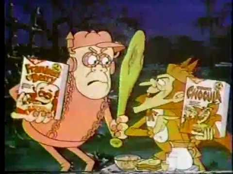 Count Chocula & Frankenberry Cereal 1978 Commercial