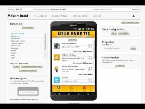 APP para crear tus propias aplicaciones android #docentes #Tic Infantil MAKEMEDROID.
