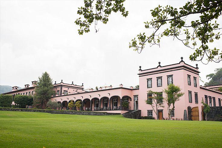 Hotel Hacienda de San Antonio Mexico.  #weddingsinmexico #weddingvenues #destinationweddings #magicalplaces