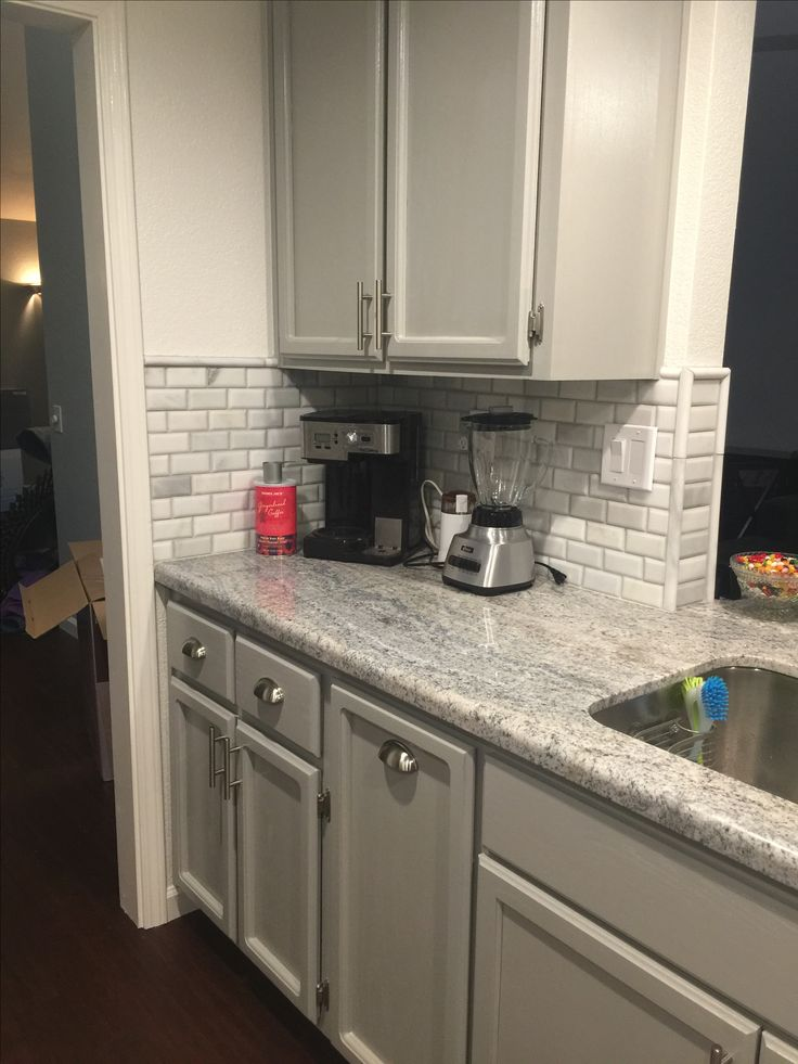 Monte Cristo Granite Marble Backsplash Tiles And Grey