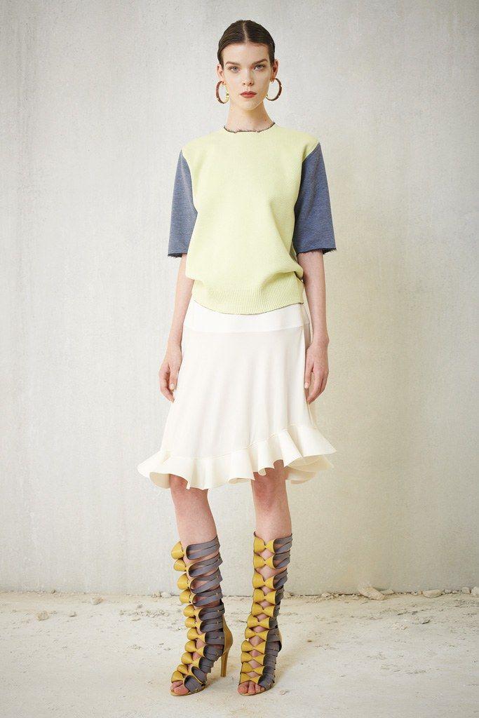 Balenciaga Resort 2013 Fashion Show - Meghan Collison