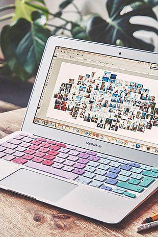 Tastatur-Schutzhülle in Pastellfarben - Urban Outfitters