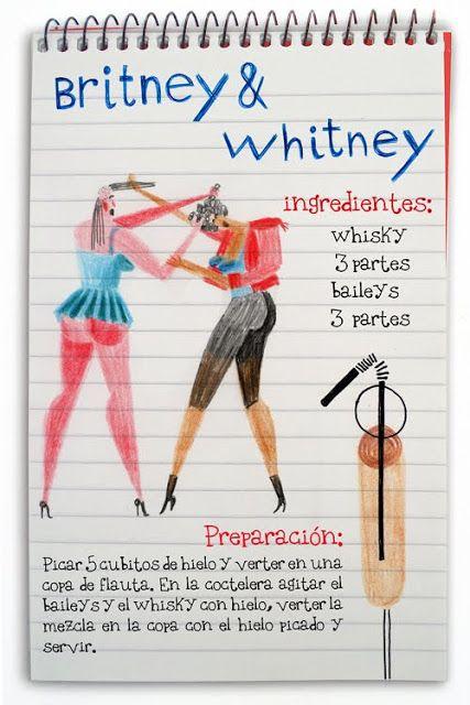 Receta cóctel Britney & Whitney - Descubre Catabox - Packs Gin Tonic y Vino - El regalo perfecto para los amantes de las cosas buenas y bonitas