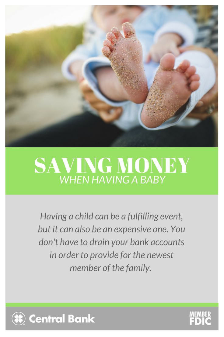 Having a child can be a fulfilling event, but it can also be an expensive one.  Seeing your child take their first steps or say their first word can be a priceless experience, but paying for new clothes and diapers certainly is expensive. But you don't have to drain your bank accounts in order to provide for the newest member of the family. Here are a few ways to save some when you have a baby.