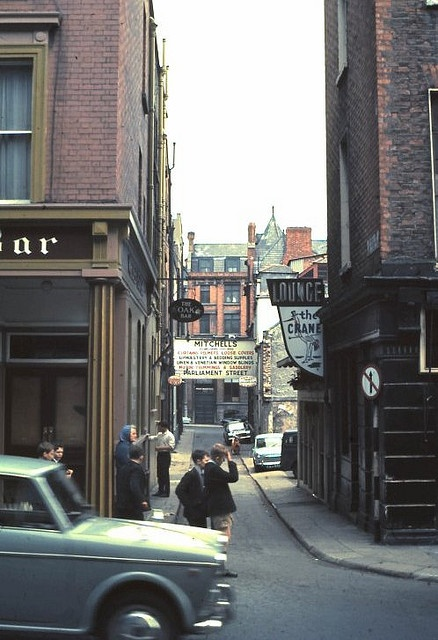 Crane Lane Dublin 1968 by MajorCalloway, via Flickr