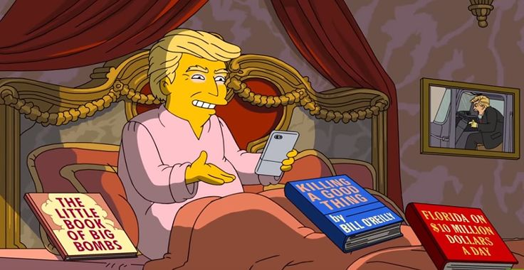 """The Simpsons """"Analysis"""" Of Trump's First 100 Days Will Make You Laugh, Cry Or Both (Video)"""