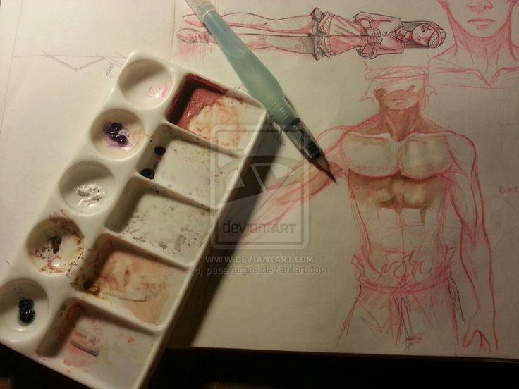 Watercolors by pepevargas on deviantART