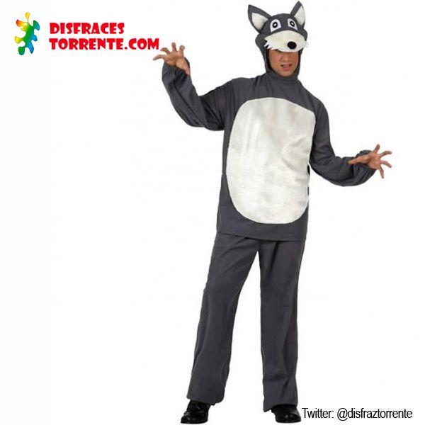 Disfraz de lobo feroz para hombre el cuento ya te lo for Disfraz de lobo feroz