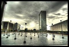 Esplanade de la Defense - The plaza on which I lived.