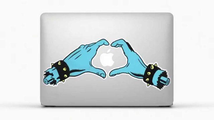 Pegatinas para Macbook y Laptop de TeleAdhesivo HD
