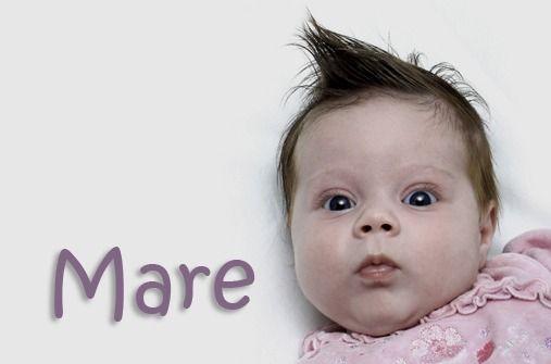 Seltene Mädchennamen: Mare