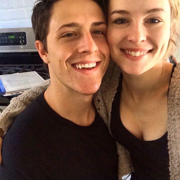 Shane Harper and Bridgit Mendler