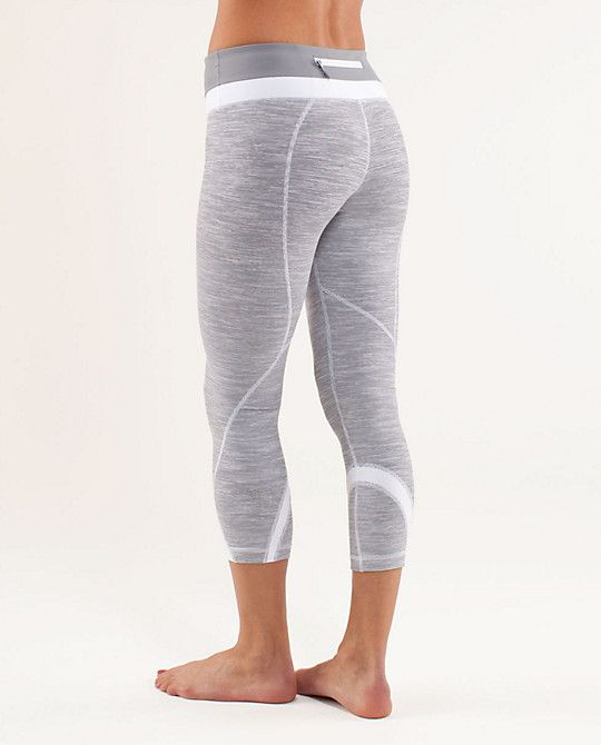 Lululemon, my first crops that are not black. Love these:)