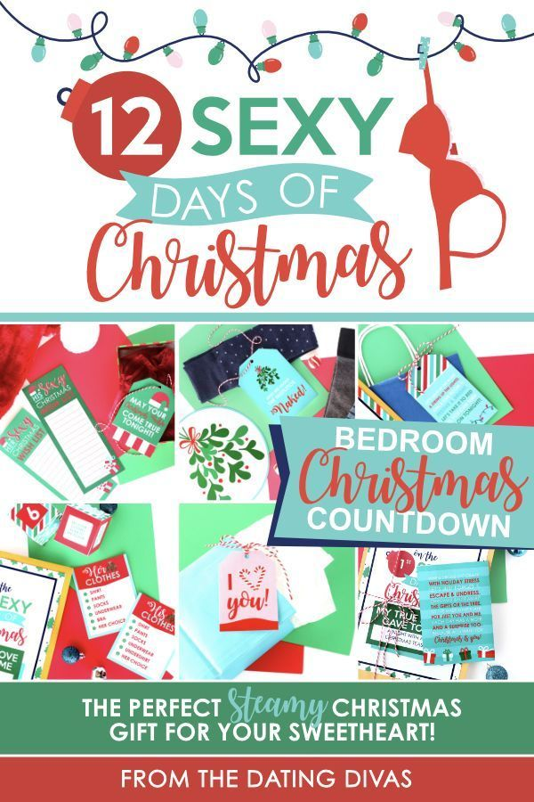 12 Sexy Days Of Christmas The Best Christmas Gift Idea For Your Husband Cant Wait To Use This And Surprise Him Husbandchristmasgift