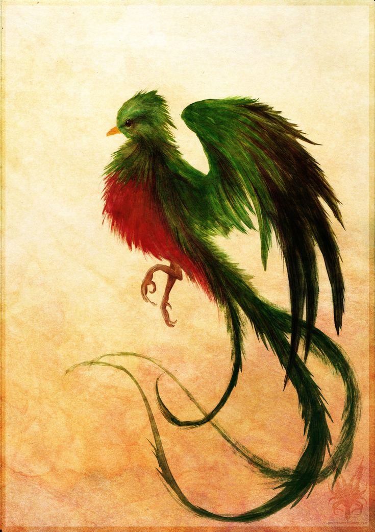 Resplendent Design From Katarzyna Kraszewska: 25+ Best Ideas About Quetzal Tattoo On Pinterest