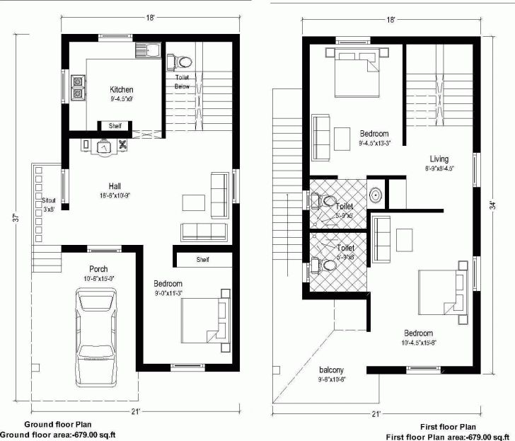 Must See Home Idea Blog Ifi Home Design 20 50 20 X 50 House Plans Pic House Floor Plan Ideas In 2020 20x40 House Plans Duplex House Plans South Facing House
