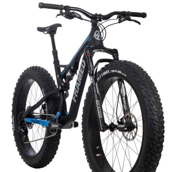Framed Montana plows over any terrain with carbon Horst link full suspension fat bike - Bikerumor