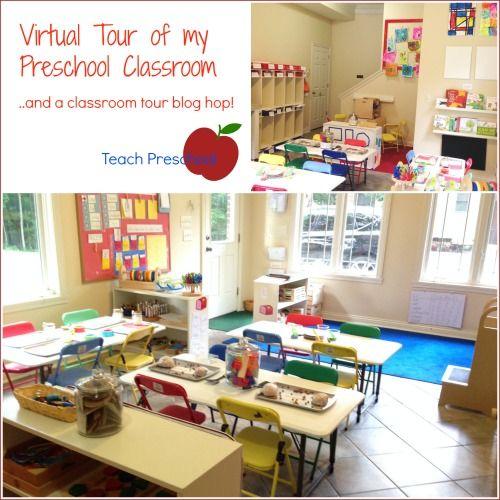 Great ideas for smaller classrooms/split classrooms   virtual tour of my preschool classroom    Teach Preschool