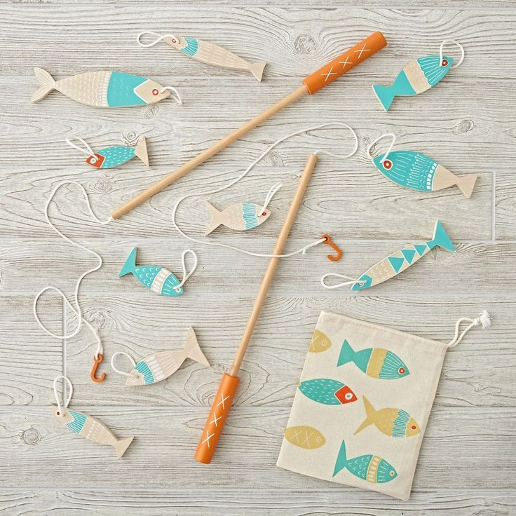 #VR #VRGames #Drone #Gaming Shop Kids Fishing Game.  Your little ones can snag a fresh catch every day with our Cast Off Fishing Game.  Designed by Leah Duncan, this wooden fishing game includes two wooden poles and ten colourful... cast, Catch, Colorful, Day, designed, duncan, fishing, Fresh, game, includes, kids, Leah, poles, Shop, snag, ten, VR Pics, wooden #Cast #Catch #Colorful #Day #Designed #Duncan #Fishing #Fresh #Game #Includes #Kids #Leah #Poles #Shop #Snag #Ten #